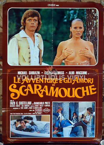 The Loves and Times of Scaramouche - Italian Poster - Ursula Andress Nude