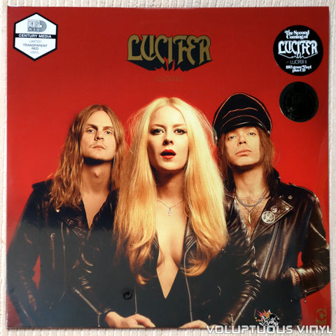 Lucifer ‎– Lucifer II (2018) Red Vinyl + CD