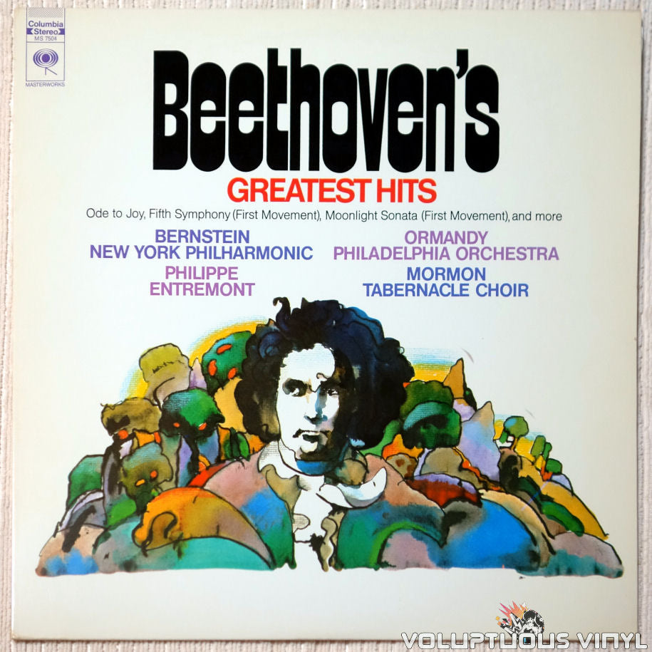 Beethoven ‎– Beethoven's Greatest Hits vinyl record front cover