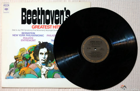 Beethoven ‎– Beethoven's Greatest Hits vinyl record