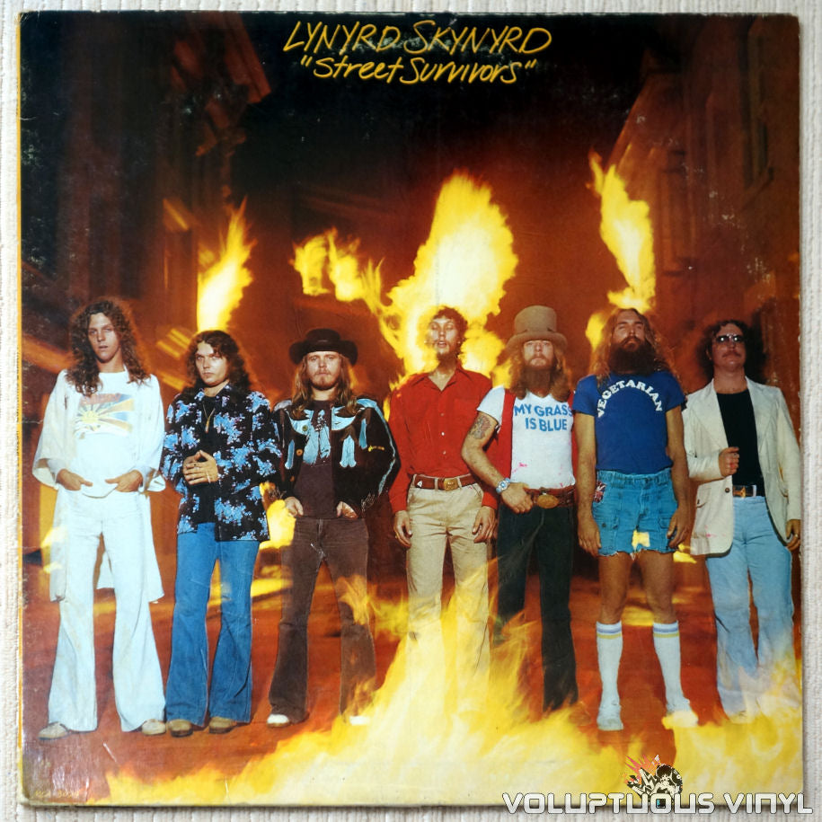 Lynyrd Skynyrd ‎– Street Survivors (1977) Recalled Cover