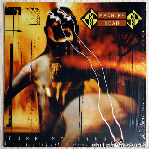 Machine Head ‎– Burn My Eyes - Vinyl Record - Front Cover
