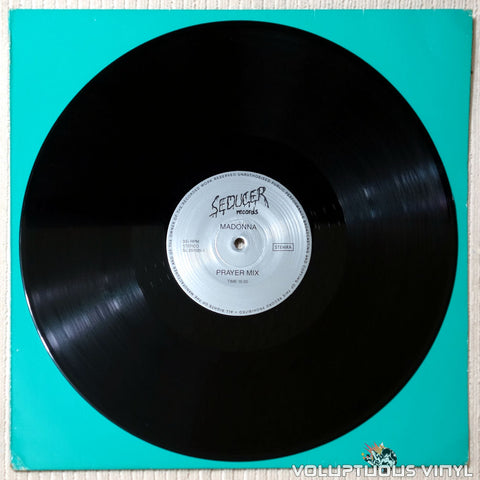 "Madonna / Prince ‎– Prayer Mix / Nelson Mix (?) 12"" Unofficial, Netherlands Press"