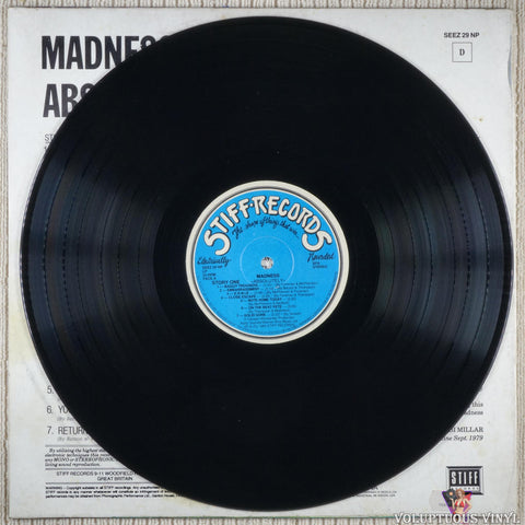 Madness ‎– Absolutely vinyl record