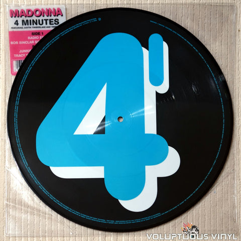 Madonna Featuring Justin Timberlake And Timbaland ‎– 4 Minutes - Vinyl Record
