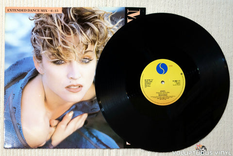 Madonna ‎– Angel (Extended Dance Mix) vinyl record