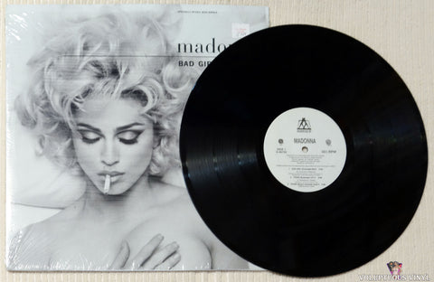 Madonna ‎– Bad Girl vinyl record