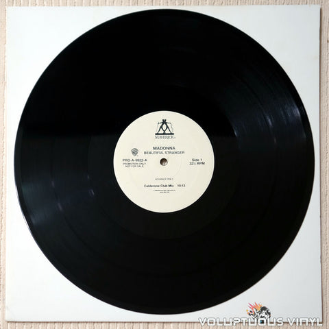 Madonna ‎– Beautiful Stranger - Vinyl Record - Side 1