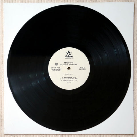 Madonna ‎– Beautiful Stranger - Vinyl Record - Side 2