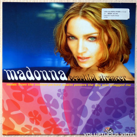 Madonna ‎– Beautiful Stranger vinyl record front cover