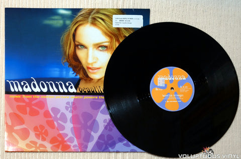 Madonna ‎– Beautiful Stranger vinyl record