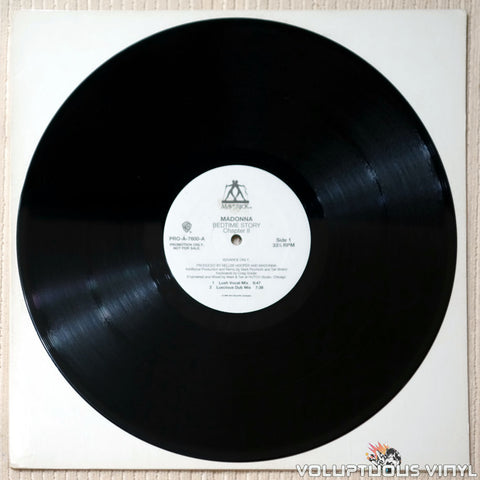Madonna ‎– Bedtime Story Chapter II - Vinyl Record - Side 1