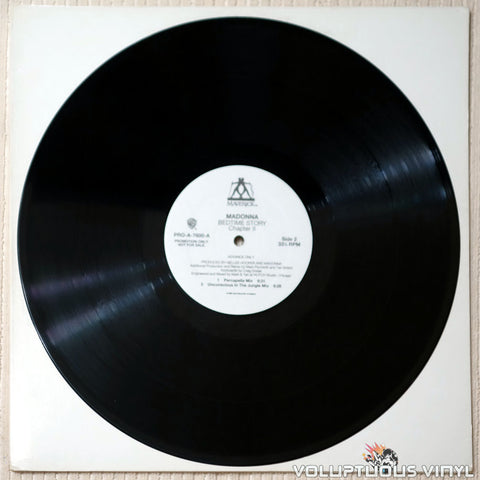 Madonna ‎– Bedtime Story Chapter II - Vinyl Record - Side 2