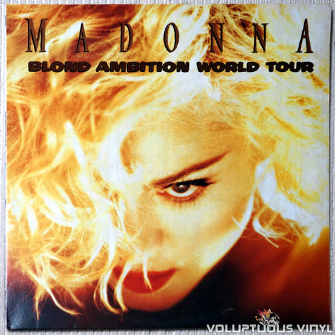 Madonna ‎– Blonde Ambition Tour Japan 1990 (1990) 2xLP, Unofficial, French Press