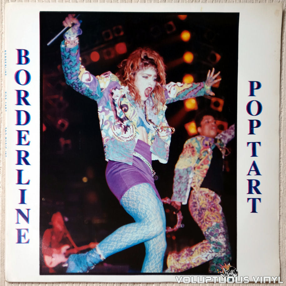 Madonna ‎– Borderline Pop Tart vinyl record front cover