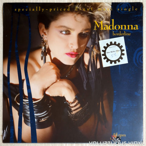 "Madonna ‎– Borderline (1984) 12"" Maxi-Single SEALED or Used"