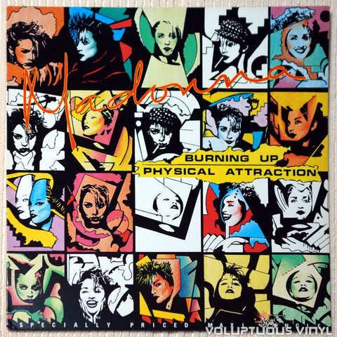 "Madonna ‎– Burning Up / Physical Attraction (1983) 12"" Maxi-Single"