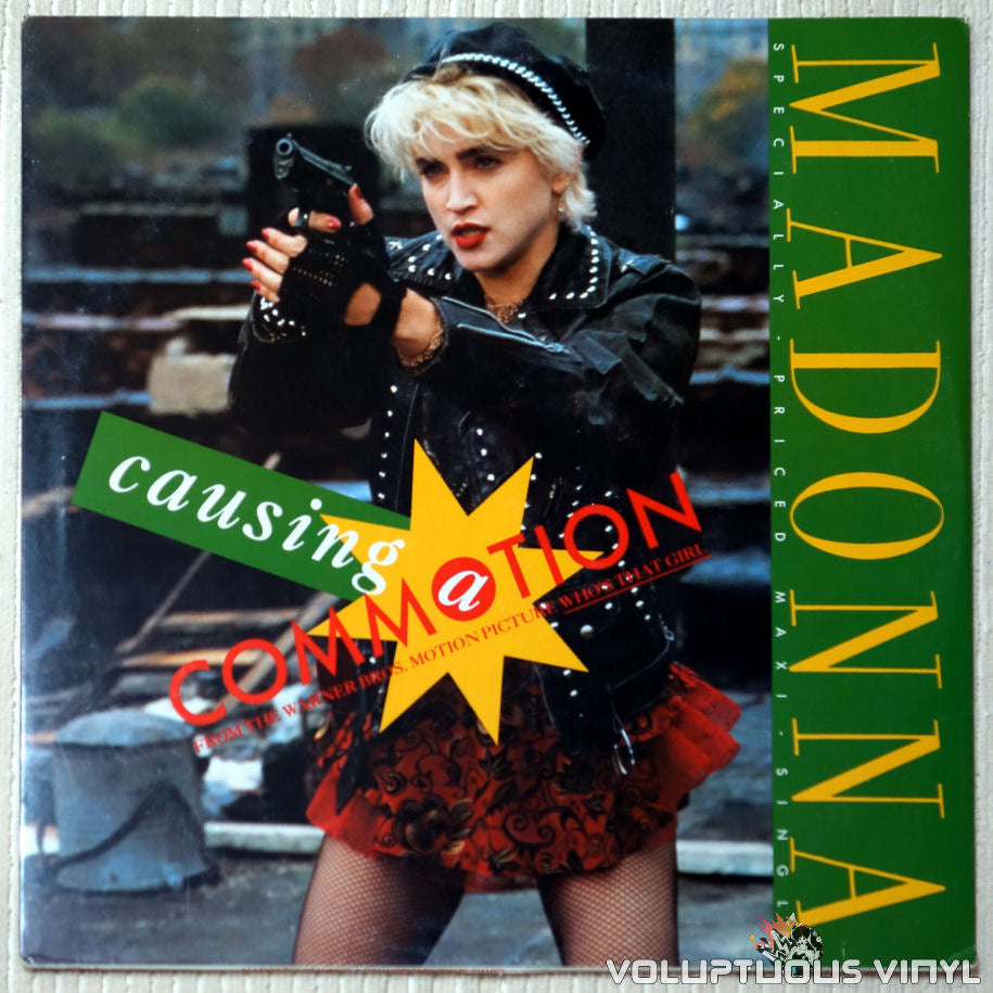 Madonna ‎– Causing A Commotion - Vinyl Record - Front Cover