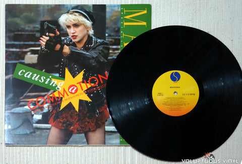 Madonna ‎– Causing A Commotion - Vinyl Record
