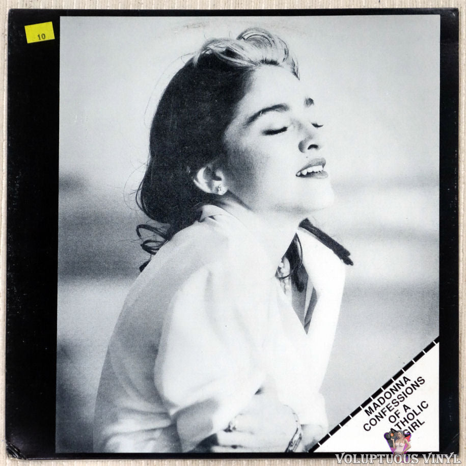 Madonna ‎– Confessions Of A Catholic Girl vinyl record front cover
