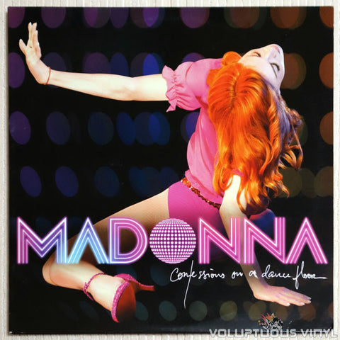 Madonna ‎– Confessions On A Dance Floor (2006) Numbered Pink Vinyl