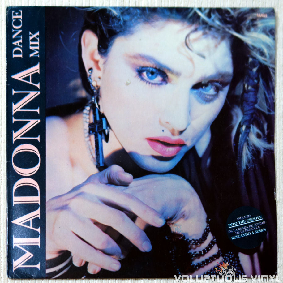 Madonna ‎– Dance Mix vinyl record front cover