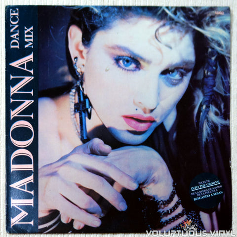 Madonna ‎– Dance Mix (1985) EP, Argentina Press