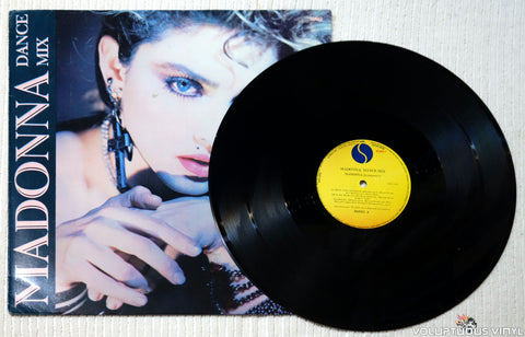 Madonna ‎– Dance Mix vinyl record