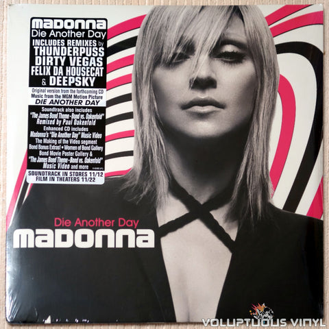 "Madonna ‎– Die Another Day (2002) 2x12"" Single SEALED"