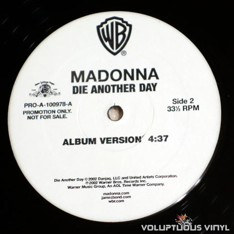 Madonna ‎– Die Another Day - Vinyl Record - Side 2