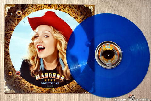 Madonna ‎– Don't Tell Me - Vinyl Record