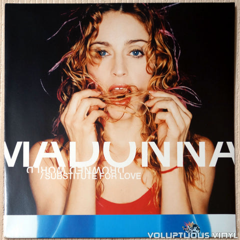 Madonna ‎– Drowned World / Substitute For Love - Vinyl Record - Front Cover
