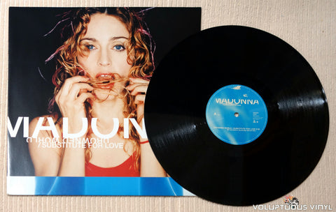 Madonna ‎– Drowned World / Substitute For Love - Vinyl Record