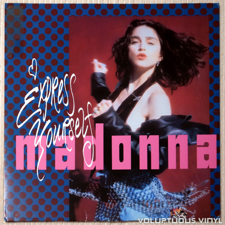 Madonna ‎– Express Yourself - Vinyl Record - Front Cover