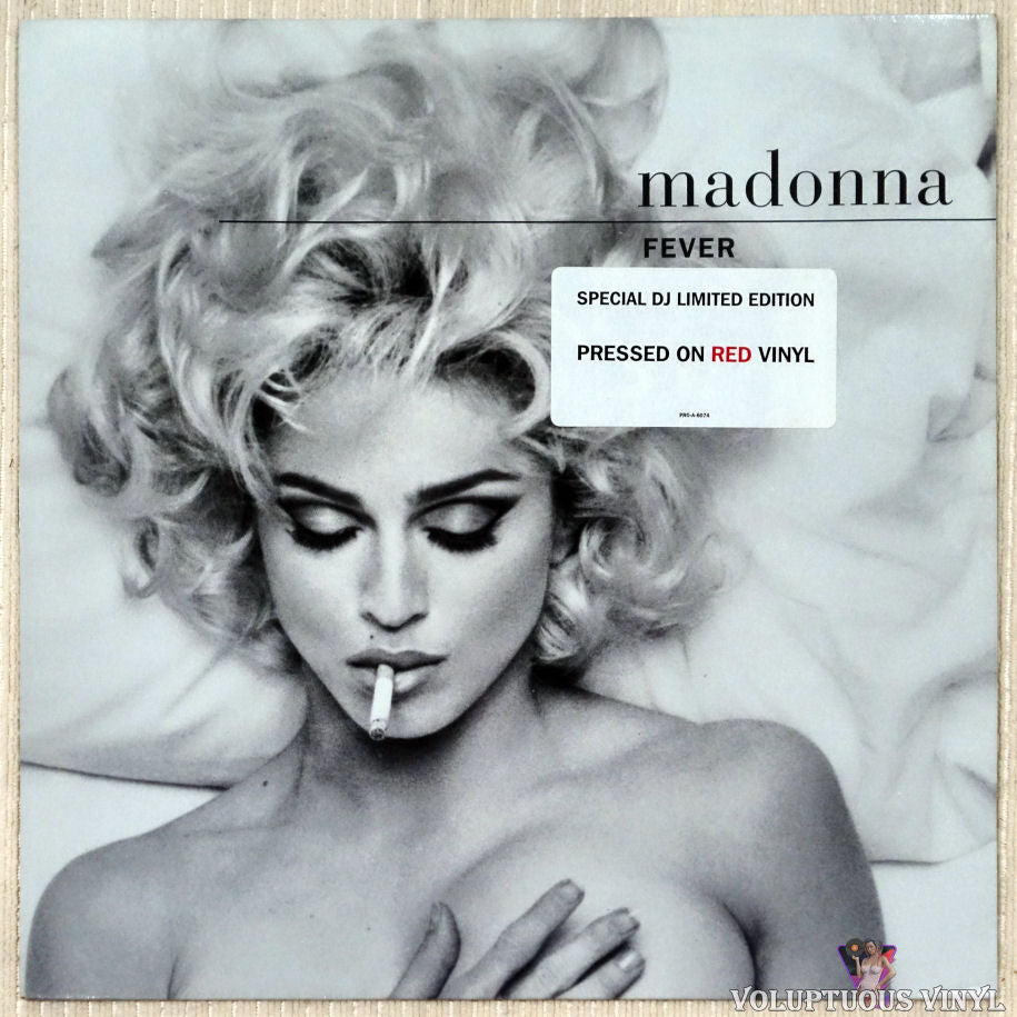 Madonna ‎– Fever vinyl record front cover