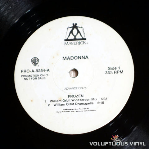 Madonna ‎– Frozen - Vinyl Record - Side A
