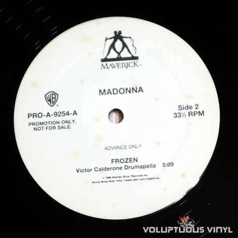 Madonna ‎– Frozen - Vinyl Record - Side B