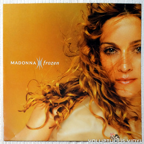 Madonna ‎– Frozen vinyl record front cover