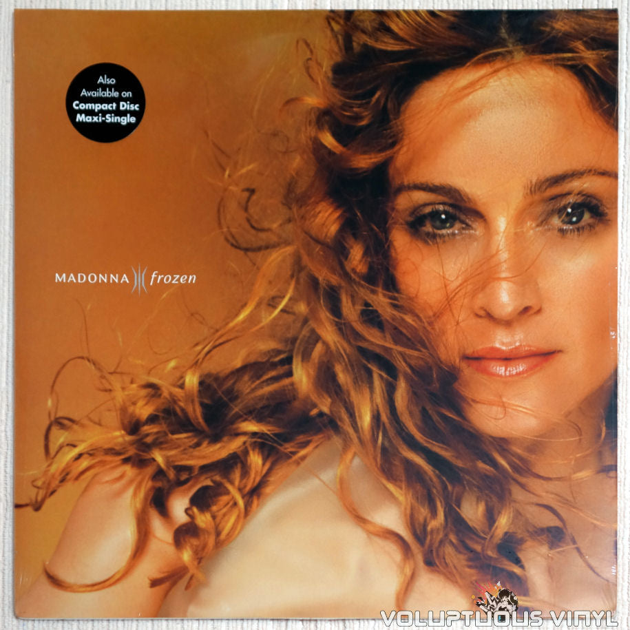 Madonna ‎– Frozen - Vinyl Record - Front Cover