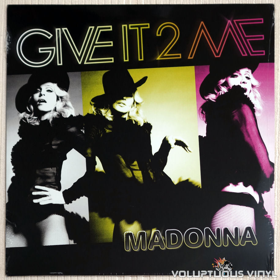 Madonna ‎– Give It 2 Me - Vinyl Record - Front Cover