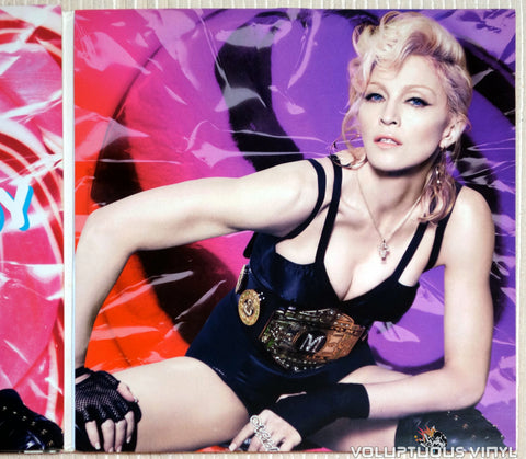 Madonna ‎– Hard Candy - Vinyl Record - Inner Gatefold Cover