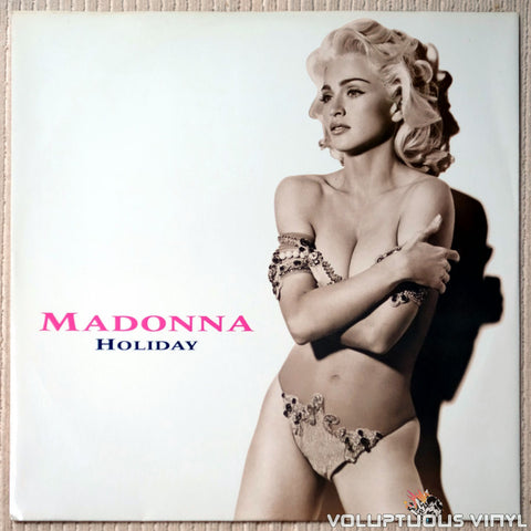 Madonna ‎– Holiday - Vinyl Record - Front Cover