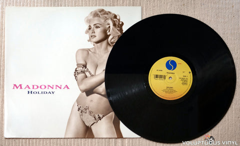 Madonna ‎– Holiday - Vinyl Record