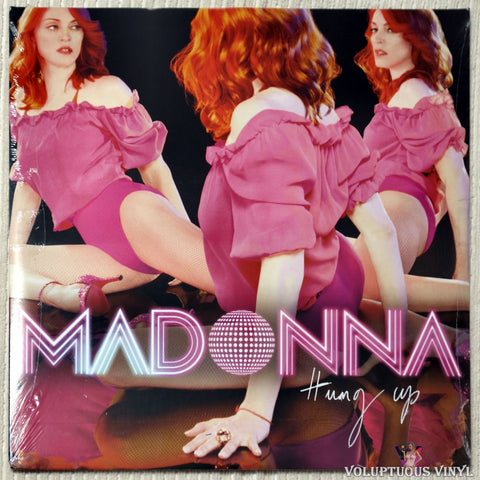 Madonna ‎– Hung Up vinyl record front cover