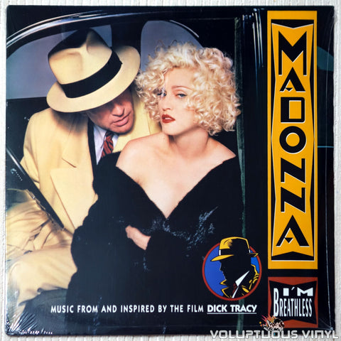 Madonna ‎– I'm Breathless - Vinyl Record - Front Cover