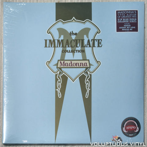 Madonna ‎– The Immaculate Collection - Vinyl Record - Front Cover