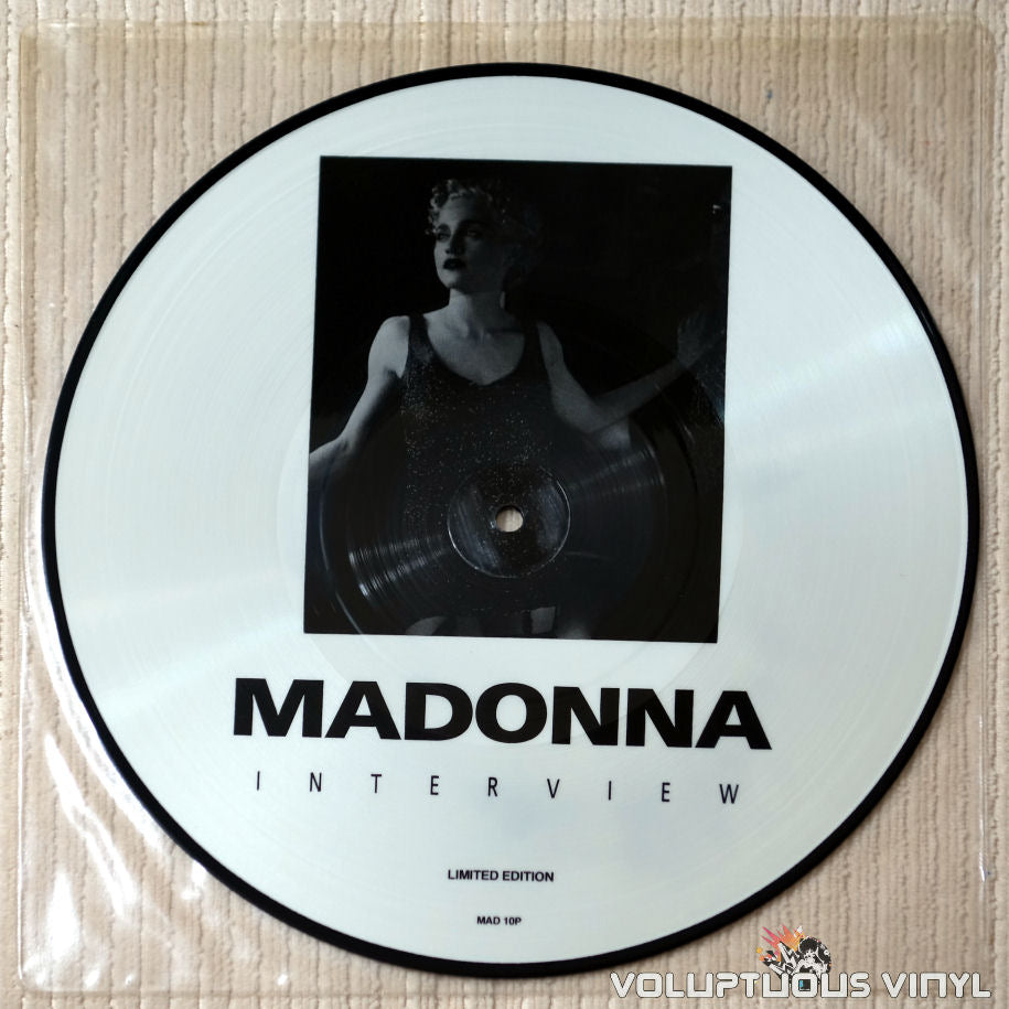 Madonna - Interview - Vinyl Record