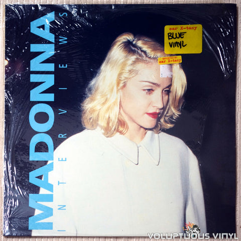 Madonna ‎– Interviews - Vinyl Record - Front Cover