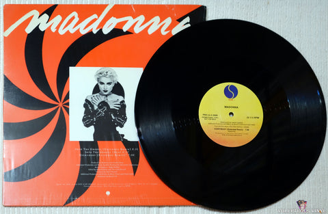 Madonna ‎– Into The Groove / Everybody vinyl record