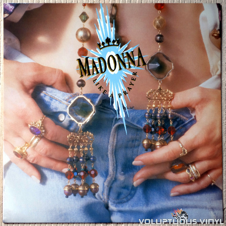 Madonna ‎– Like A Prayer - Vinyl Record - Front Cover